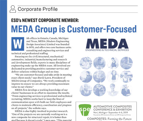 MEDA Group is ESD's Newest Corporate Member
